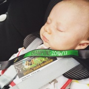 Louis on route to first Wasps Rugby match
